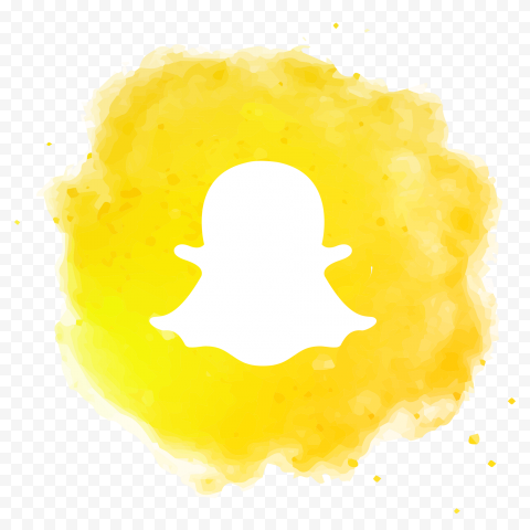 Snapchat Social Media Aesthetic Watercolor Logo Icon Citypng