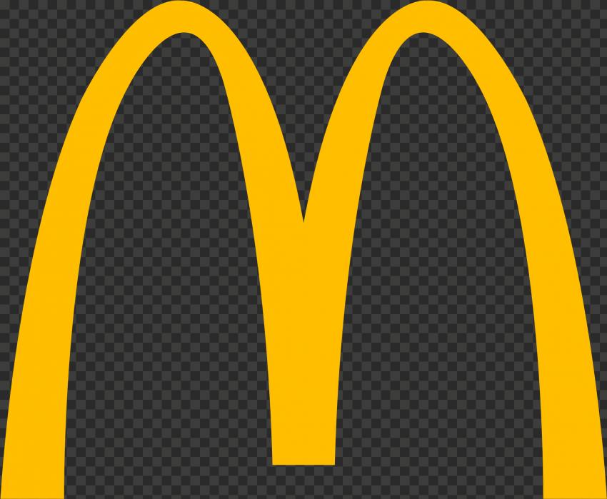 HD Yellow McDonald McDonalds M Logo Symbol PNG Image
