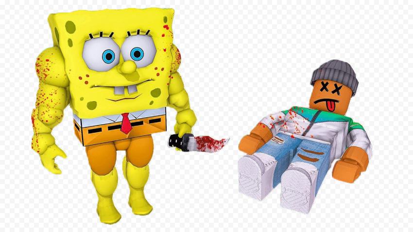 HD Spongebob Roblox Charactrers Transparent PNG
