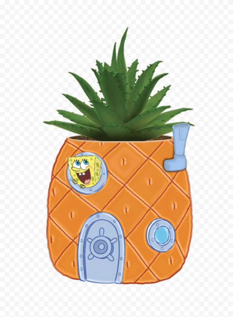 HD Spongebob Pineapple House PNG