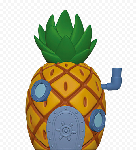 HD Spongebob Pineapple House Toy Transparent PNG