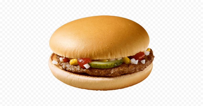 HD Mcdonalds Cheeseburger Beef Cheese Burger PNG Image