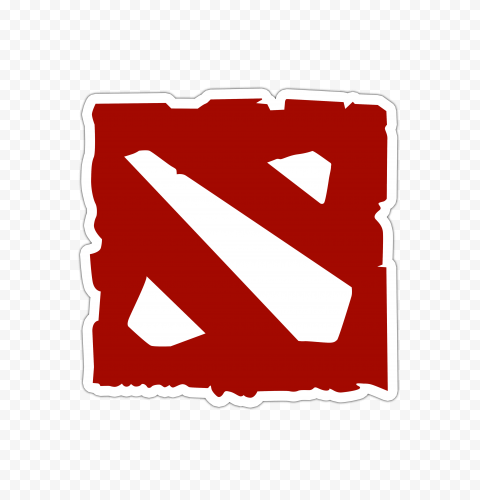 HD Dota 2 Official Logo Sticker PNG