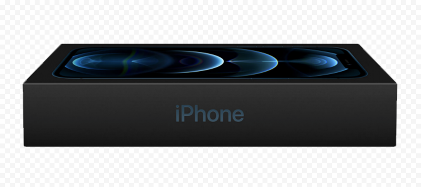 HD Apple iPhone 12 Pro Box PNG