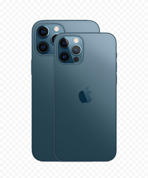 HD Apple Pacific Blue iPhone 12 Pro & Pro Max PNG