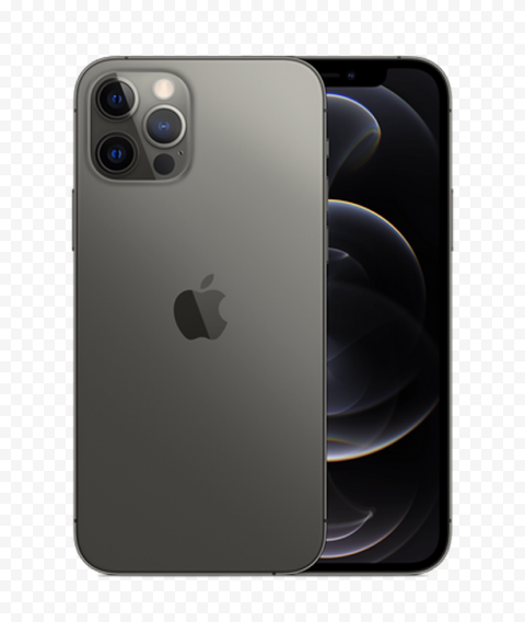 Apple Graphite iPhone 12 Pro & Pro Max PNG