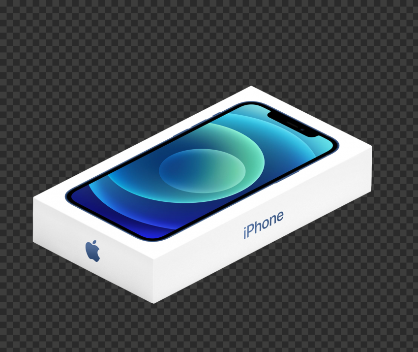 HD Apple iPhone 12 Box PNG