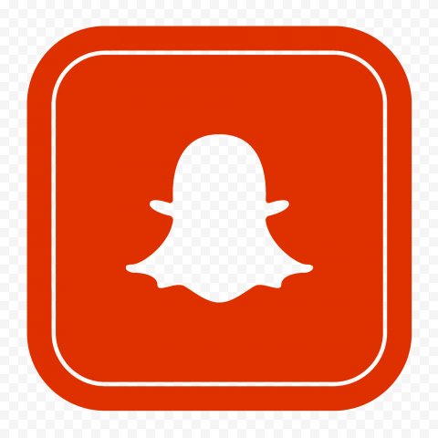 Hd Red Snapchat Square Logo Icon Png Image Citypng