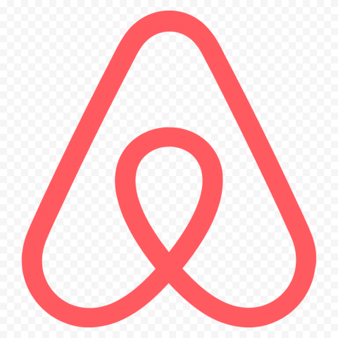 HD Airbnb Symbol Logo Sign Icon PNG Image