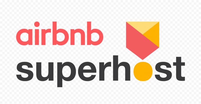 HD Airbnb Superhost Badge Logo PNG Image