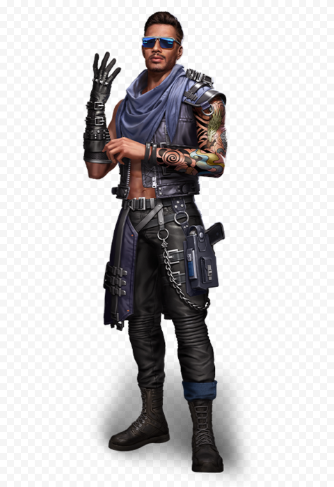HD Free Fire Maro Man FF Character PNG