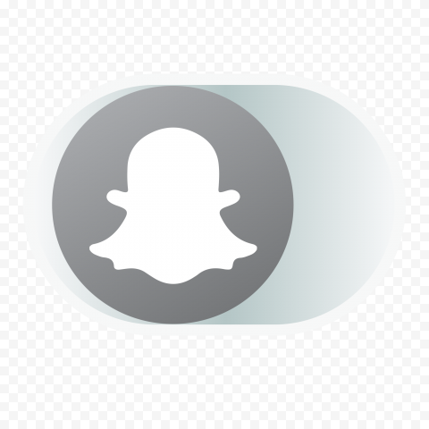 HD Gray Snapchat Offline OFF Disabled Web Icon PNG Image