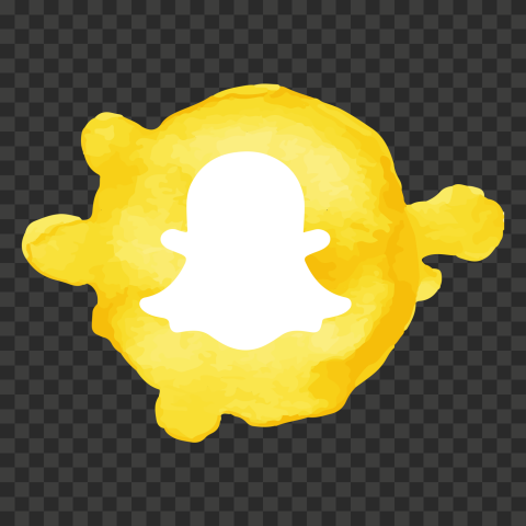 Hd Snapchat Watercolor Art Icon Png Image Citypng