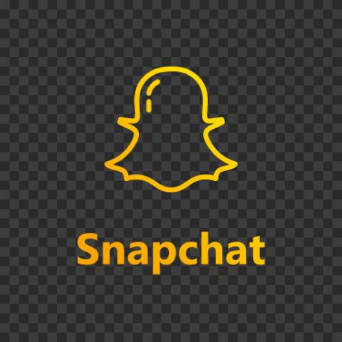 Snapchat Yellow Gradient Logo Icon UI SVG PNG Image