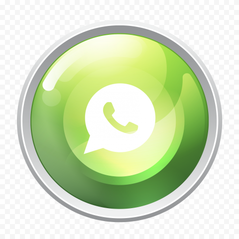 HD Whatsapp Wa Watsup Round Circle Logo Icon PNG