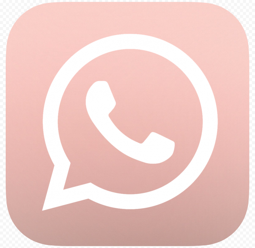 HD Rose Gold Whatsapp Wa Whats App Official Logo Icon PNG