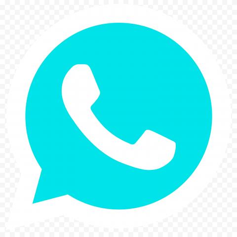 HD Flat Light Blue Wa Whatsapp Logo Icon PNG