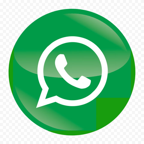 HD Wtsp Wa WhatApp Round Circular Icon PNG