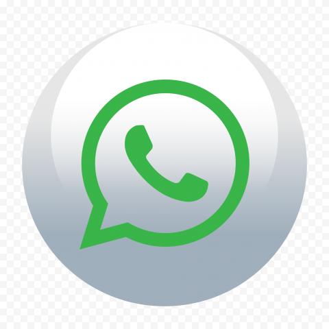 HD Wtsp Wa WhatApp Circular Round Icon PNG