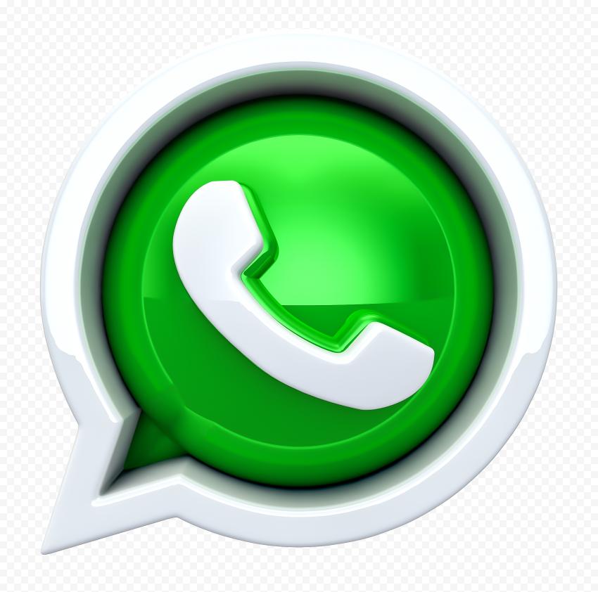HD 3D WhatsApp Wa App Logo Icon PNG