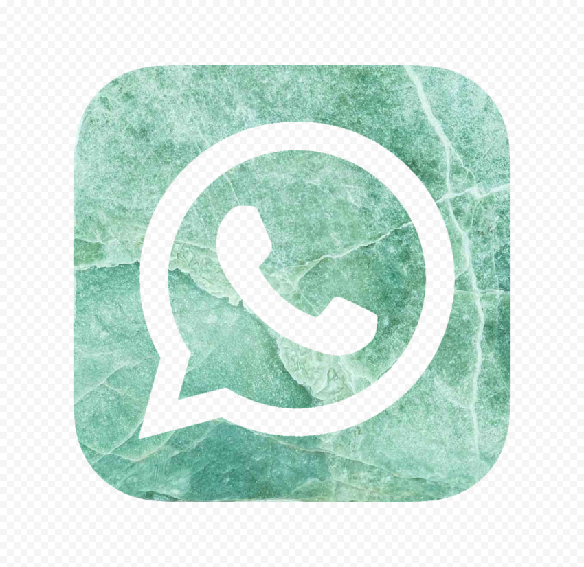 Hd Green Marble Aesthetic Whatsapp Wa Logo Icon Png Citypng