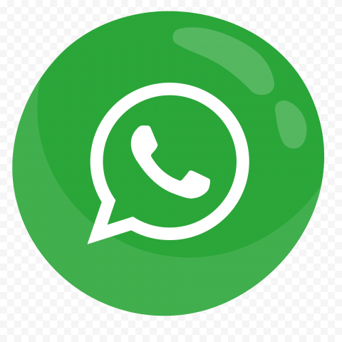 HD Clipart Green Whatsapp Illustration Round Icon PNG