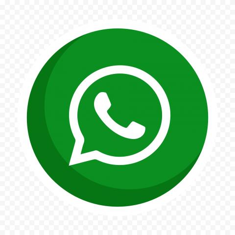 HD Vector Round Circular Whatsapp Wa Icon PNG