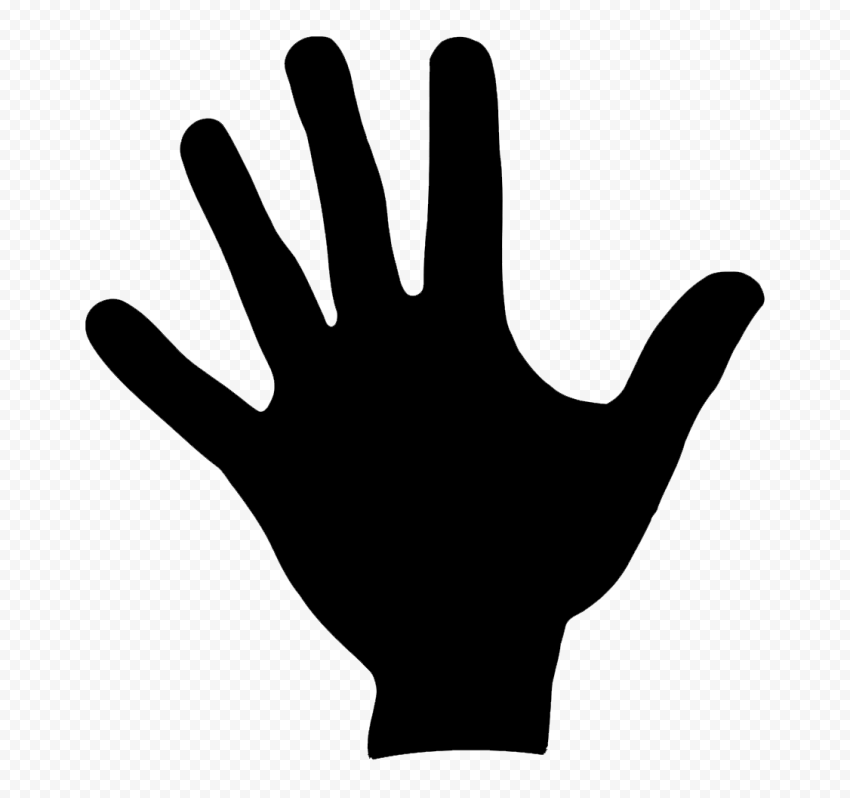 Hd Black Silhouette Left Hand Print Png Citypng 15,000+ vectors, stock photos & psd files. hd black silhouette left hand print png