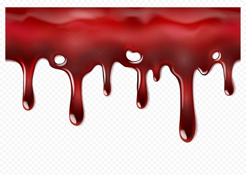 HD Dripping Falling Realistic Blood PNG | Citypng