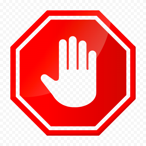Hd Vector Outline Hand Stop Sign On Road Red Stop Png Citypng Hand stop png collections download alot of images for hand stop download free with high quality for designers. hd vector outline hand stop sign on