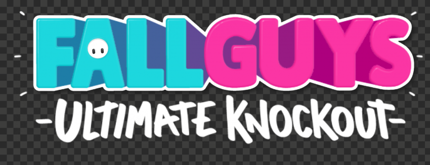 HD Fall Guys Ultimate Knockout Horizontal Logo PNG   Citypng
