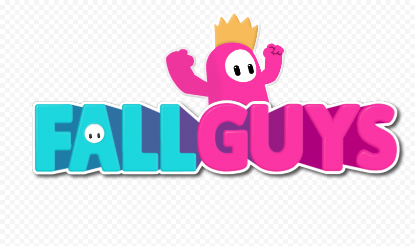 HD Fall Guys Horizontal Logo PNG   Citypng