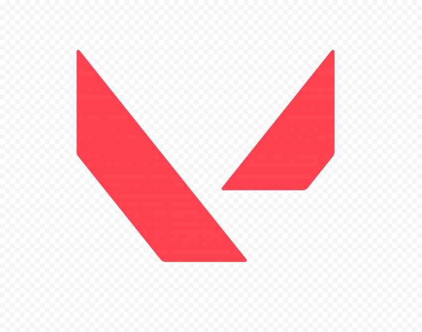 HD Valorant Official Symbol Sign Logo PNG