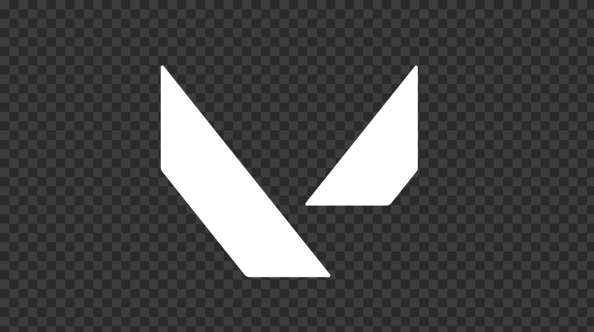 HD Valorant White Symbol Icon Sign Logo PNG