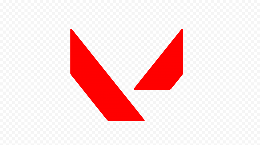 HD Valorant Red Symbol Icon Sign Logo PNG