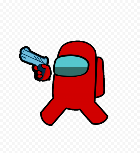 Hd Red Among Us Character Hold Weapon Gun Png Citypng We hope you enjoy our growing. hd red among us character hold weapon