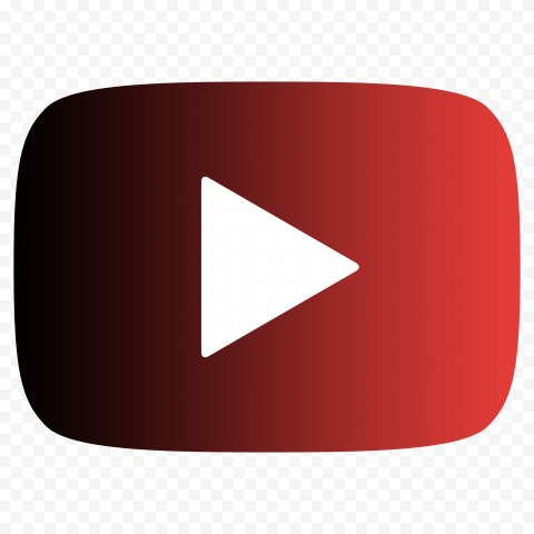 HD Black & Red Youtube YT Logo Symbol Sign Icon PNG