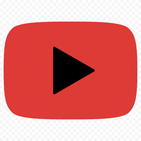 HD Youtube YT Red & Black Logo Symbol Sign Icon PNG