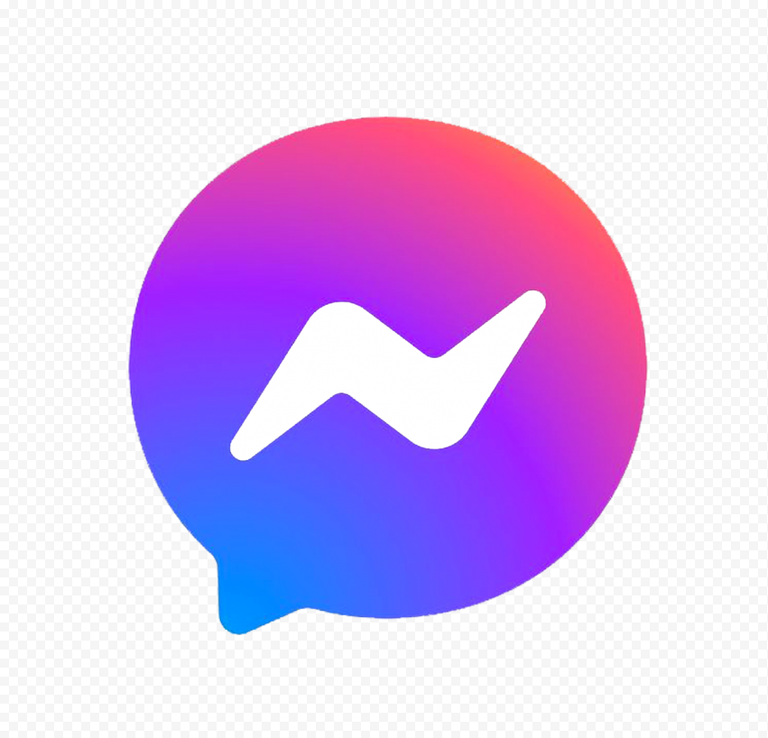 HD Official New Facebook Messenger Icon Logo PNG