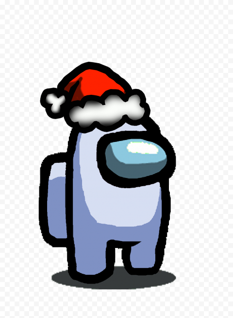 Among Us White With Christmas Hat Among Us All Skins List List Of Outfits Color Hats Pets Gamewith