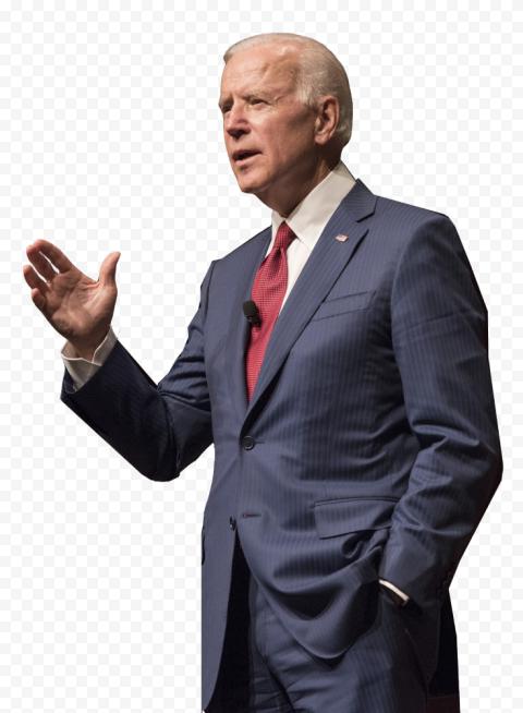 HD Standing Joe Biden Candidate US President PNG