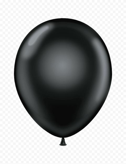 HD Black Friday Balloon Decoration PNG