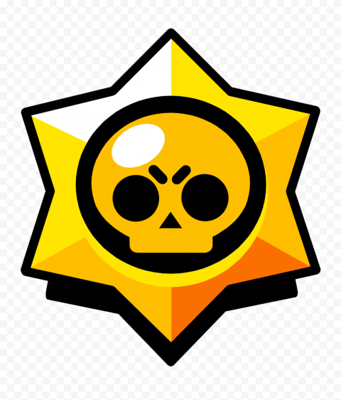 HD Brawl Stars Game Logo Icon Symbol PNG
