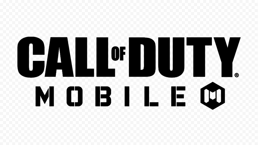 HD Black Call Of Duty Mobile COD Game Logo PNG