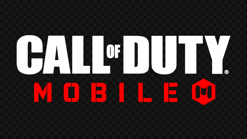 HD White & Red Call Of Duty Mobile COD Game Logo PNG