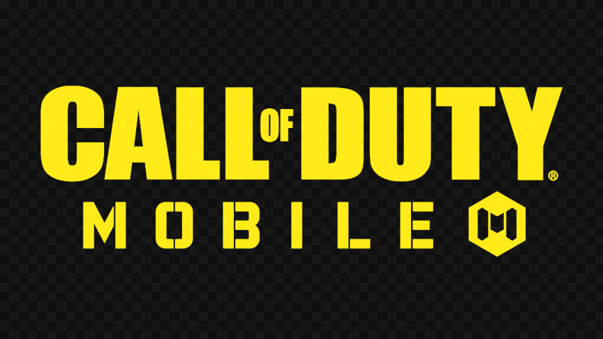 HD Yellow Call Of Duty Mobile COD Game Logo PNG