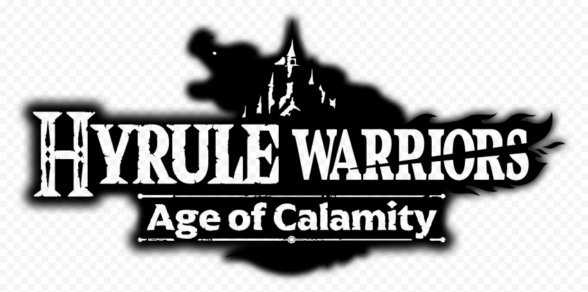 HD Hyrule Warriors Age Of Calamity Black Logo PNG