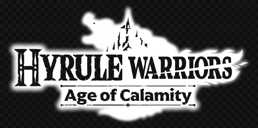 HD Hyrule Warriors Age Of Calamity White Logo PNG