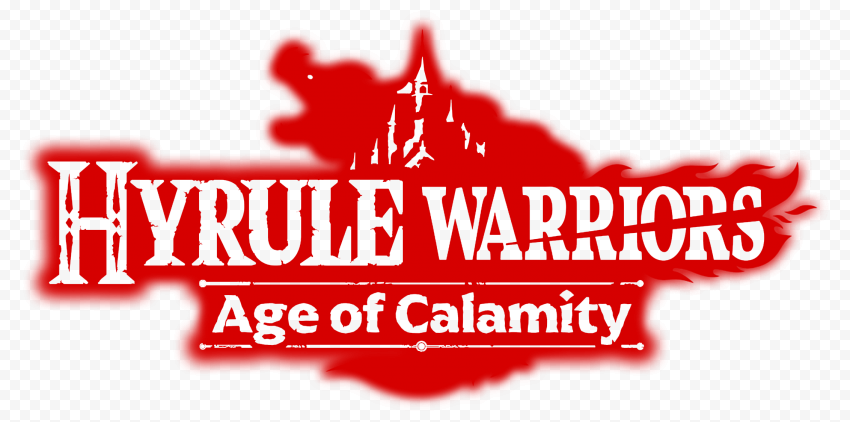 HD Hyrule Warriors Age Of Calamity Red Logo PNG