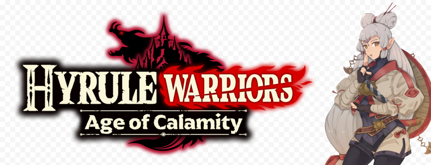 Hd Hyrule Warriors Age Of Calamity Hwaoc Impa Character With Logo Png Citypng